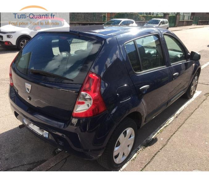 voiture occasion dacia sandero 2010 gpl essence 51000 km lorraine vosges 88 full annonces. Black Bedroom Furniture Sets. Home Design Ideas