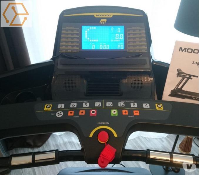 f7bb97155224f Sport Tapis de course Semi Professionnel Moovyoo Jaguar 2.0 Ile de ...