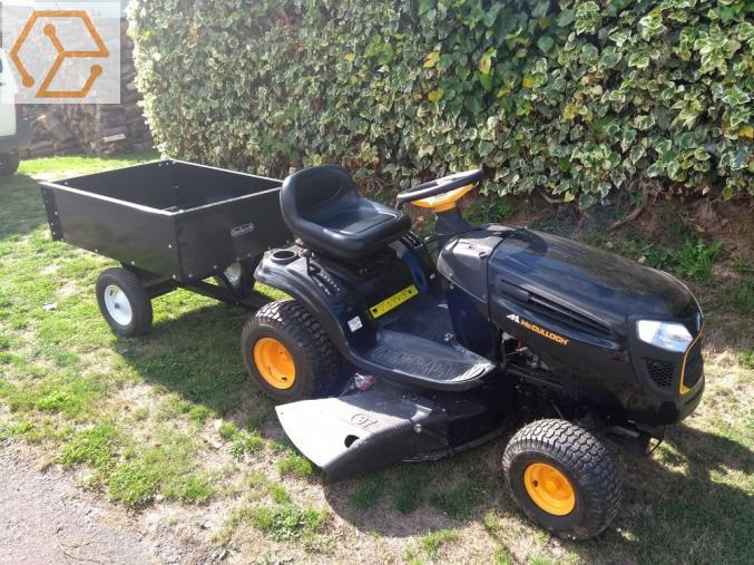 jardinage tracteur tondeuse avec remorque mc culloch. Black Bedroom Furniture Sets. Home Design Ideas